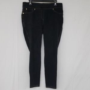 Peter Nygard Slims Black Jeans